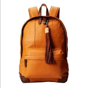 Tan Leather backpack by Will Leather Goods®